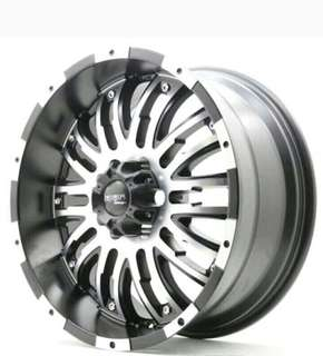 Velg HSR-EMR817 R20 Everest Fortuner Pajero