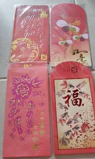 4 designs Red Packet