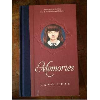 LANG LEAV: MEMORIES