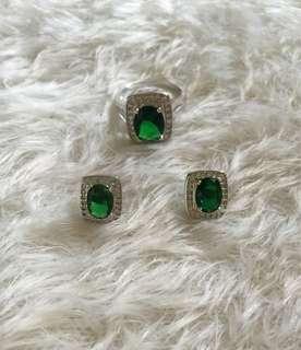 REPRICED!!! Emerald set