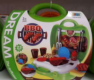 Dream Suitcase - BBQ Play Set