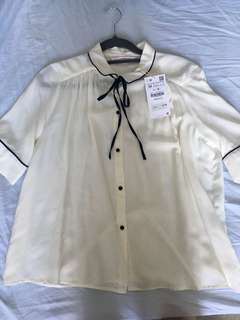 Zara bow top