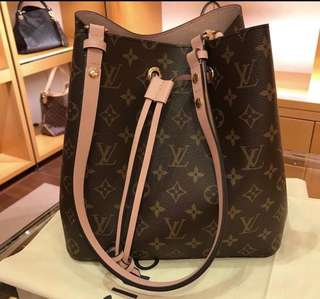 OFFER TODAY 💯 Authentic LV Neonoe Rose Poudre Neonoe