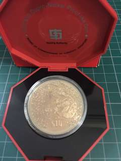 2000 $10 Cupro-Nickel Proof-like Coin (Dragon)