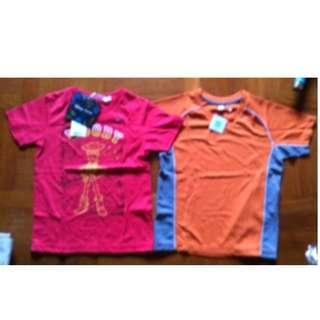 NEW Uniqlo Boys T-shirts and pants set  size 110cm