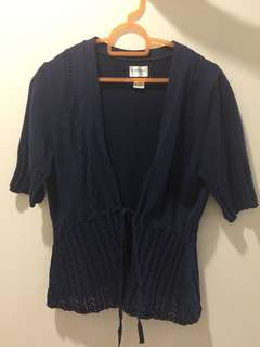 Motherhood Maternity Short Sleeved Cardigan Top (S size)