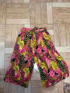 REPRICED!! Wrap around flowy  culottes/ pants