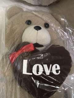 Ted. Bear 💗 Plushy