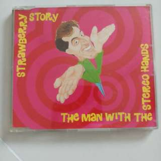 Strawberry Story - the man with the stereo hands cd single
