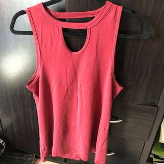 Cotton On Active Wear with front and back cutout details