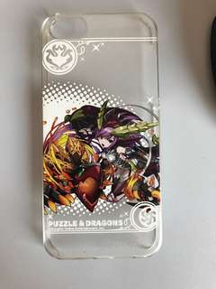 Puzzle and dragon iphone5手機殼