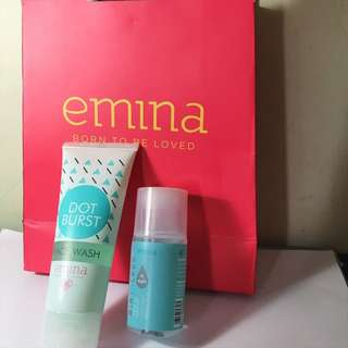 Emina face wash + make up remover