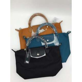 Long champ bags available in s,m and large