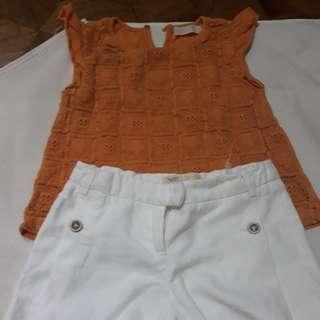 Terno Blouse and Shorts