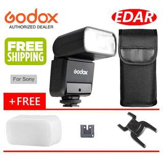GODOX TT350 (S) TTL FLASH FOR SONY  ««ORIGINAL & OFFICIAL GODOX»»