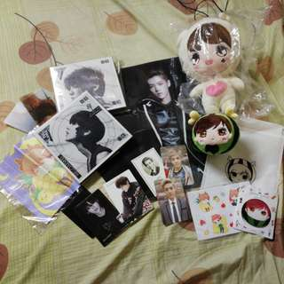 Luhan Super set doll album photocard exo sets