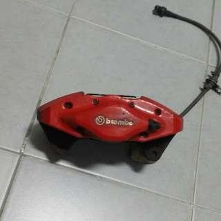 Brembo 2 pot rear brakes