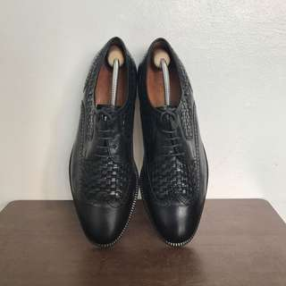 Black Apollo Formal Dress Leather Shoes for Men