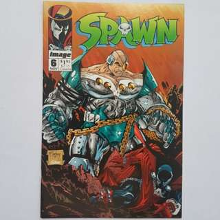 Image Comics Spawn 6 Near Mint Condition Todd McFarlane Story and Art