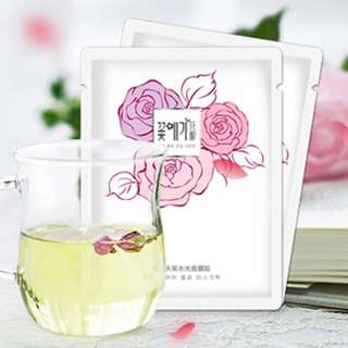 Premium Rejuvenating Rose Essence Facial Sheet Mask