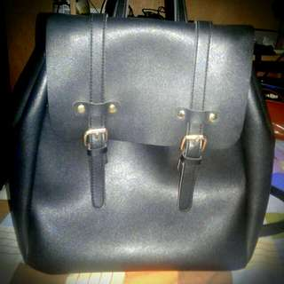 Authentic Leather Bagpack