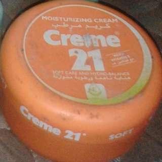 Tabir surya moisturizing cream