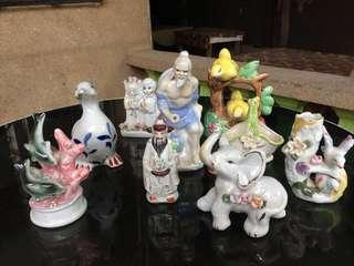 Assorted little figurines