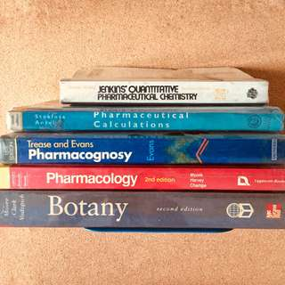 College Science Medical Pharmacy Textbooks