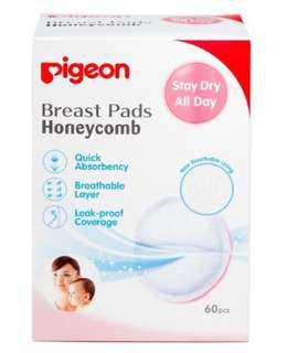 Pigeon breastpad honeycomb