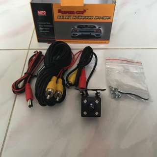 "Auto Accessories Super Car ""Color Cmos/CCD"" Reverse Camera"