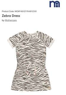 MOTHERCARE Zebra Dress