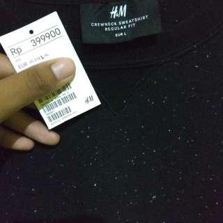 Sweater Crewneck H&M (Masih baru belum dipakai!)