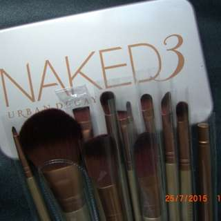 Brush / Kuas Make Up NAKED KALENG isi 12 pcs / 12 piece - KALENG