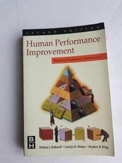 Human Performance Improvementby William J. Rothwell