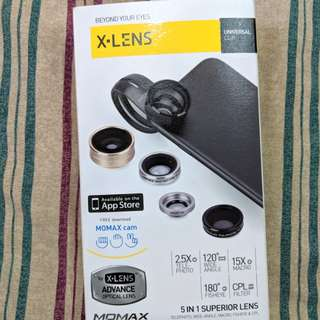 Momax Phone Lens (X-Lens Advanced Optical Lens)
