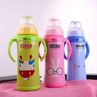 BOTOL SUSU BESI THERMOS STAINLESS STEEL
