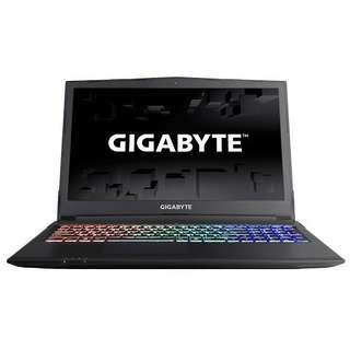 Kredit Laptop Gigabyte Sabre 15 ram 8GB hdd 1TB ready HP Kamera PS4