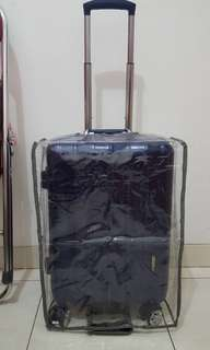 Travel luggage cover sarung koper