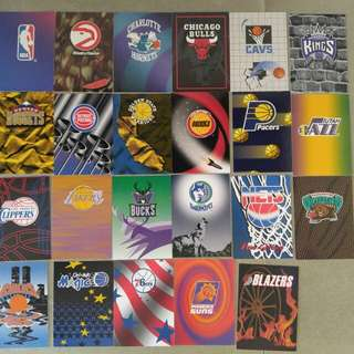 1994-95 NBA Hoops Series II Team Questions Cards
