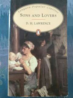 Sons and Lovers by DH Lawrence