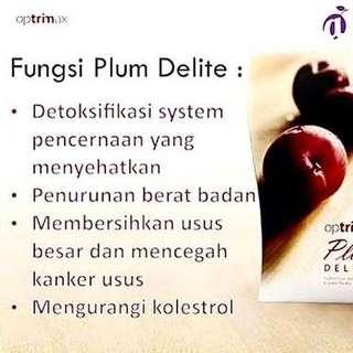 OPTRIMAX PLUM (buah asli bukan obat atau pil diet) bisa PER PCS atau box (isi 28)