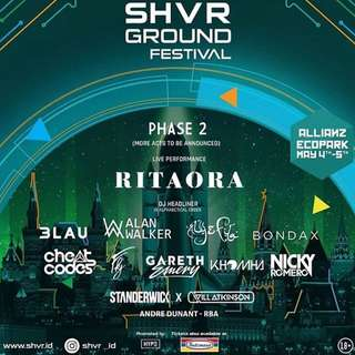 Ticket SHVR