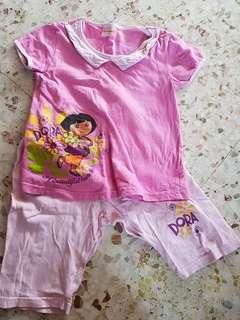 Baju kanak kanak set