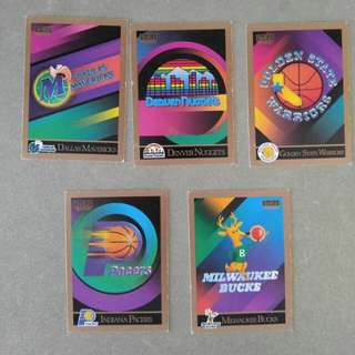 NBA 1990 SkyBox Cards
