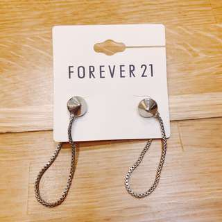 🚚 全新Forever21 垂墜耳釘耳環