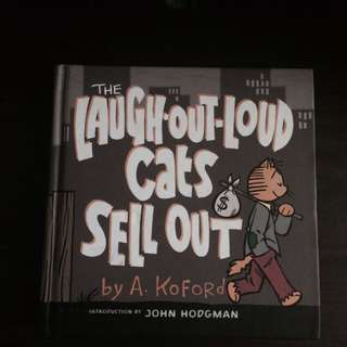 Laugh Out Loud Cats Sell Out Comic Book