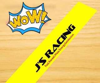 J'S Racing Sunshade