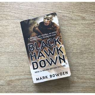 Non-fiction book: Black Hawk Down (Mark Bowden)