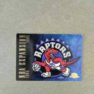 NBA 1995 SkyBox Card (Raptors)