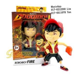 Ready stock !!! BOBOIBOY FIRE Toys Figurine